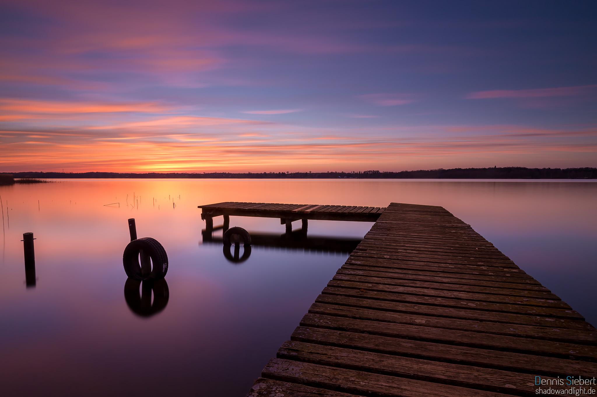 Sunset at Ratzeburger See, Germany