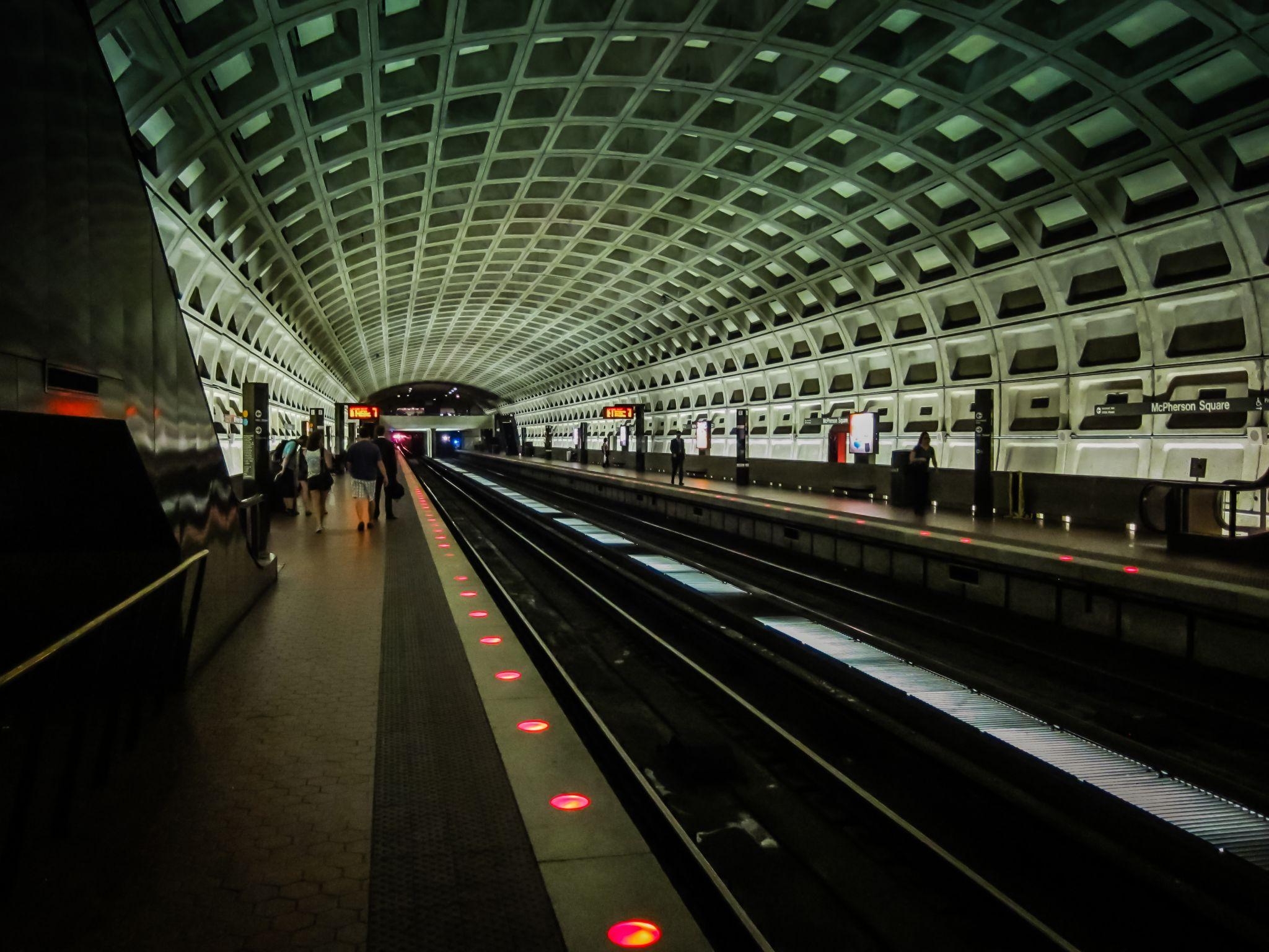 Washington DC Subway, USA