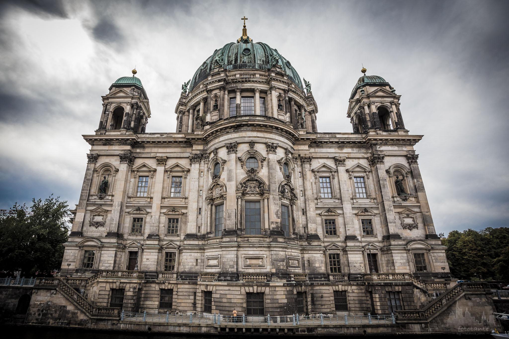 Berliner Dom, back side, Germany