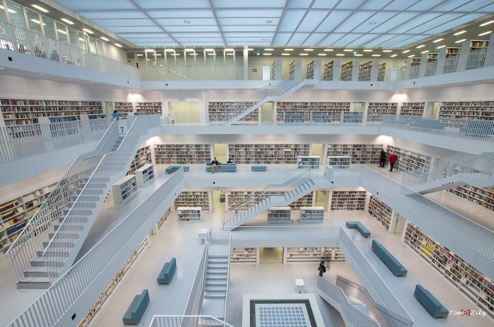 City Library, Stuttgart, Germany, Germany
