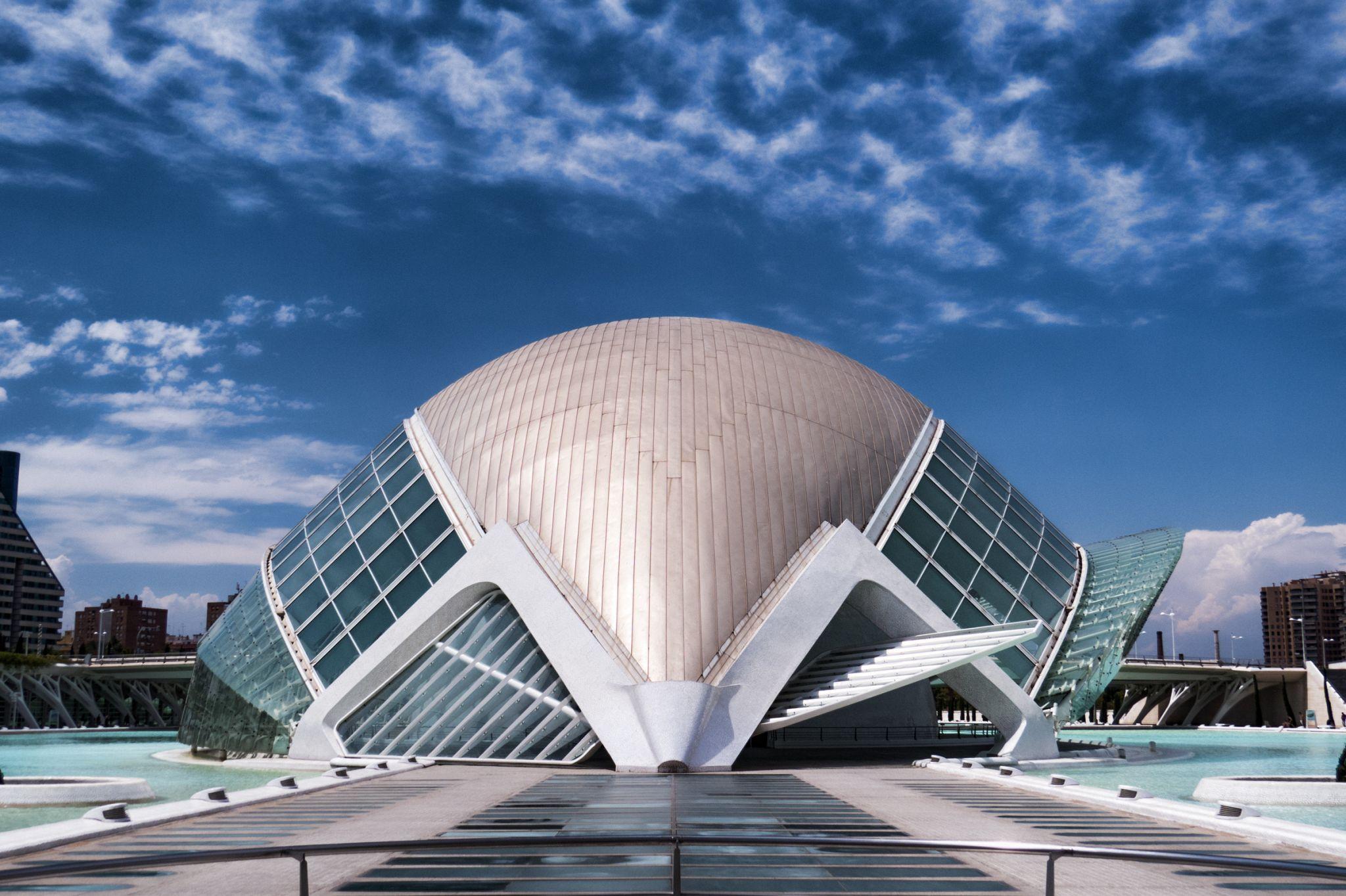 Ciudad de las Artes y de las Ciencias, Valencia, Spain