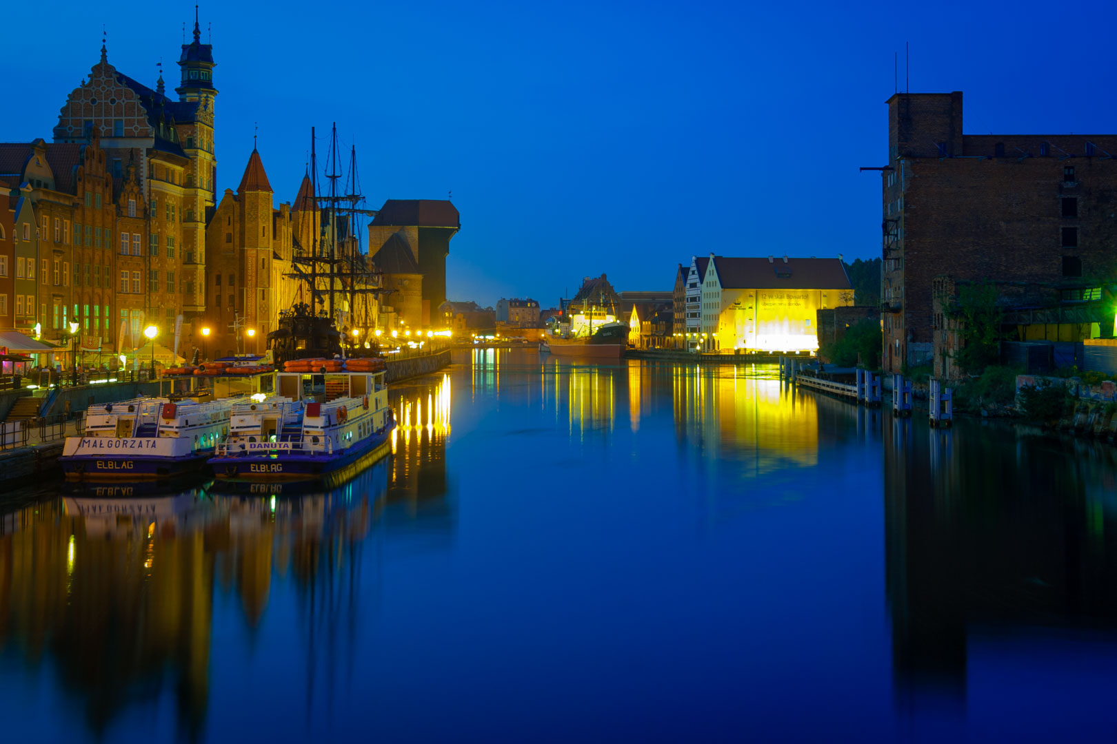Habour of Gdansk, Poland