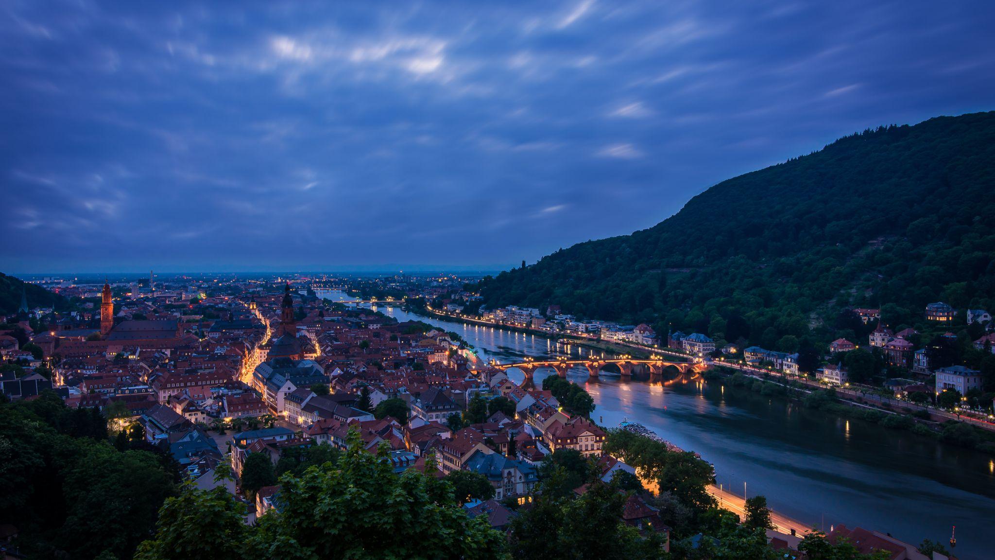 Heidelberg city view, Germany