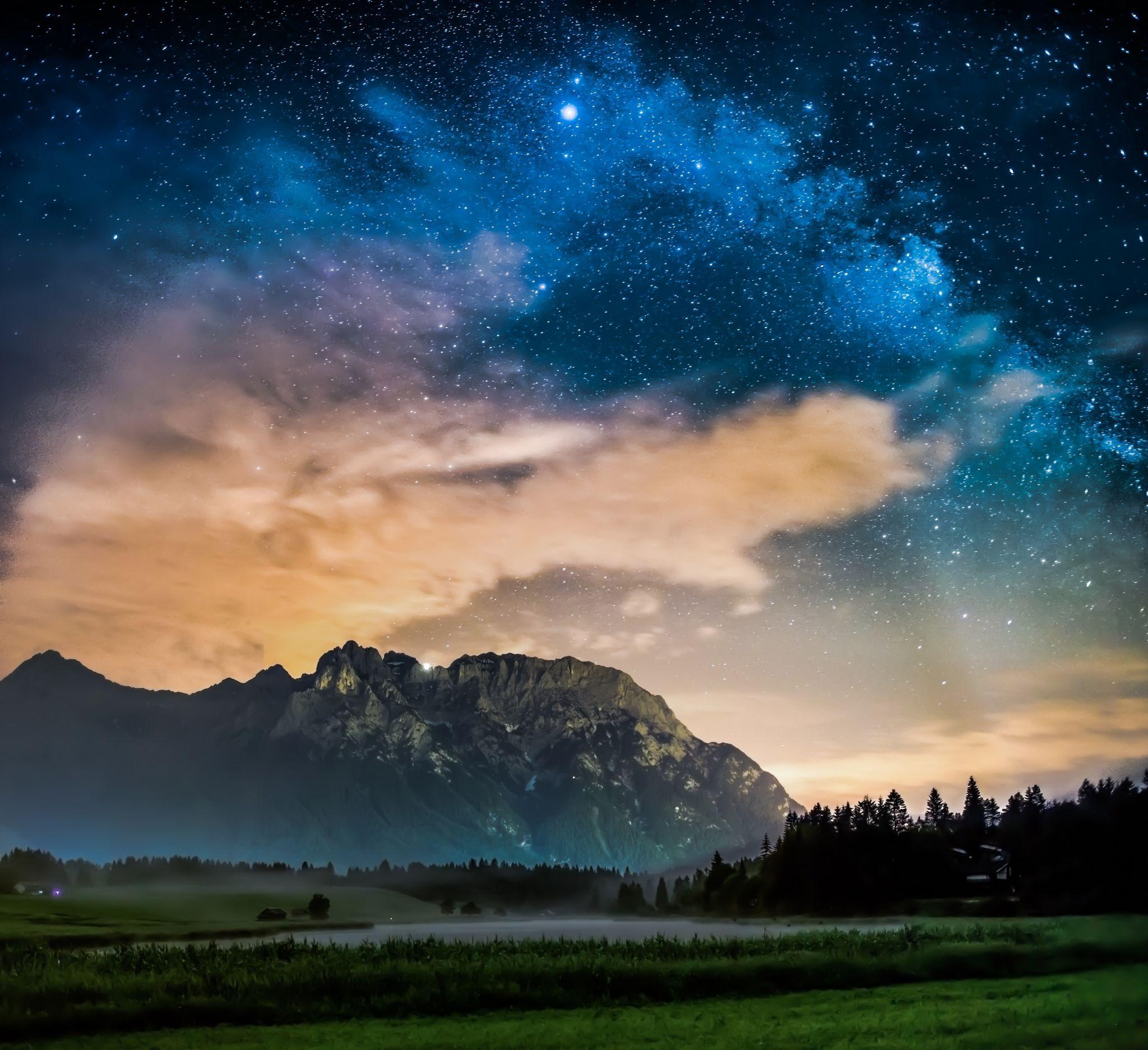 Karwendel night, Germany