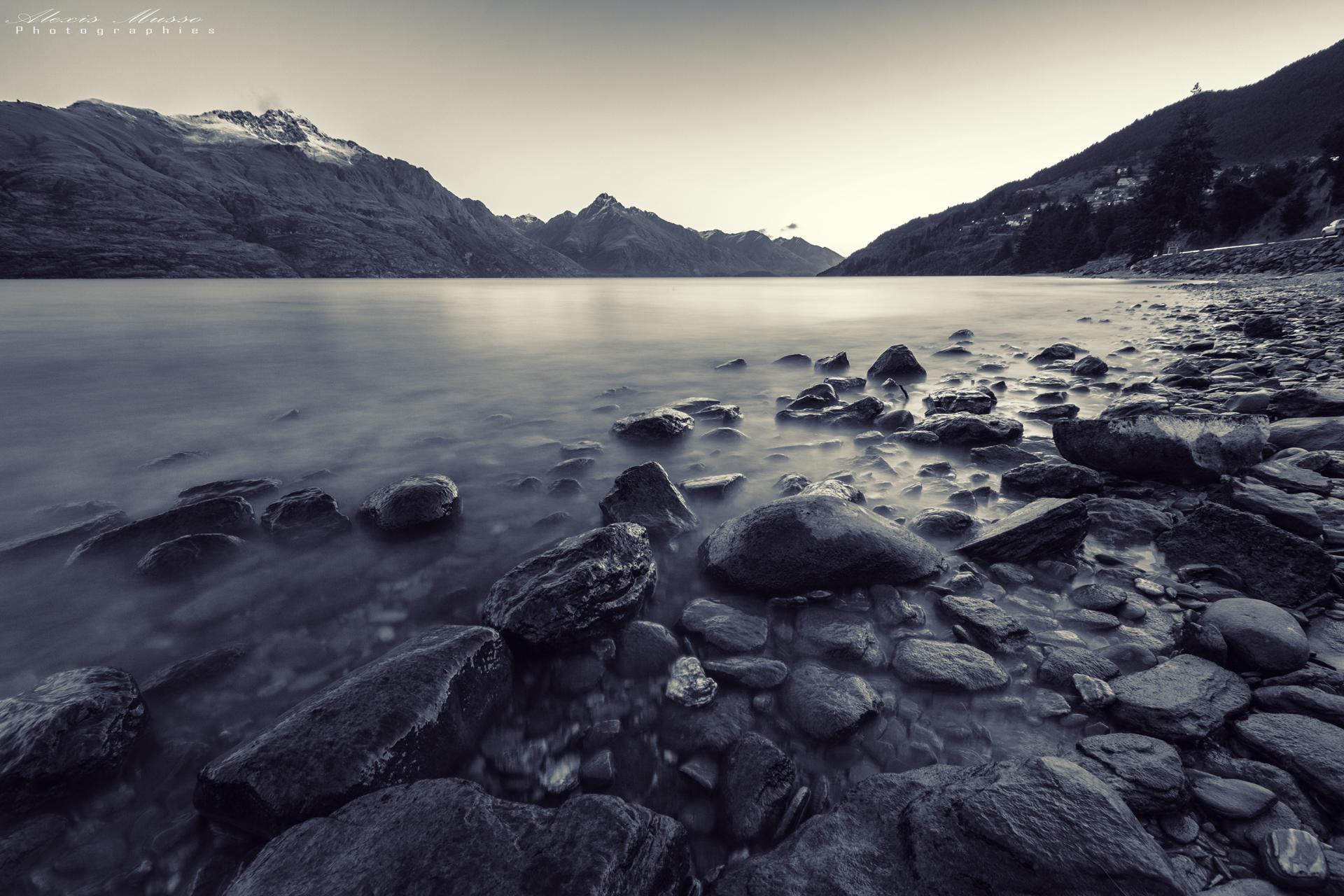 Lake Wakatipu - Queenstown, New Zealand