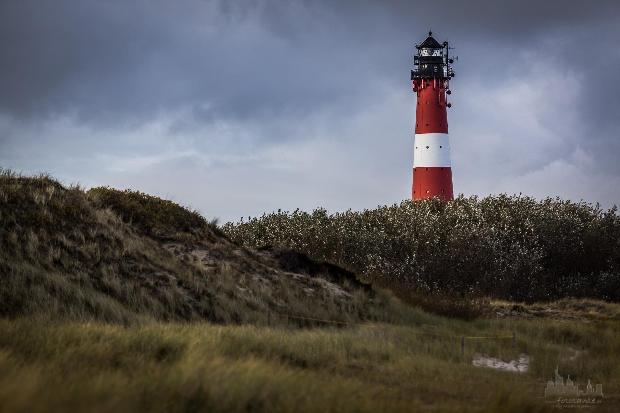 Lighthouse in Hörnum, Sylt, Germany