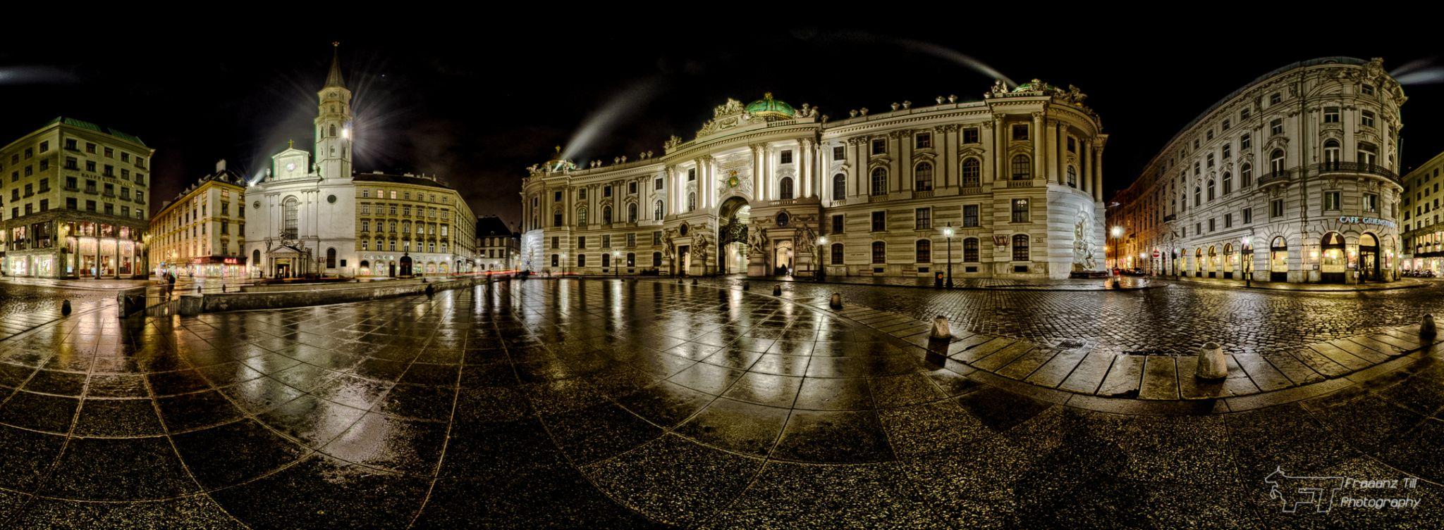 Michaelerplatz / Hofburg, Austria