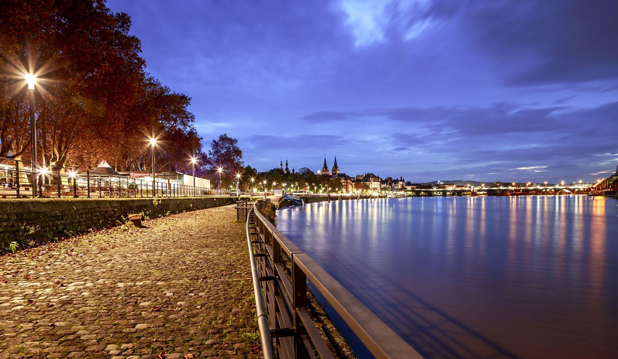 Moselufer, Koblenz, Germany