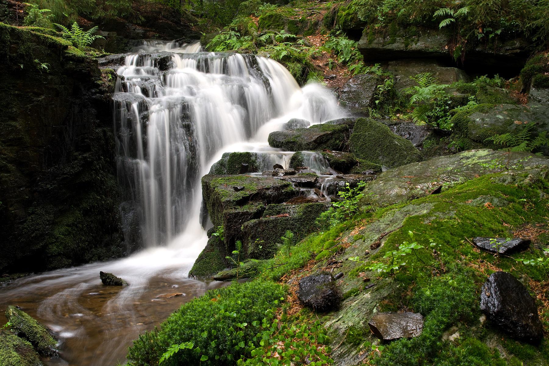 Muglbach Waterfall, Germany