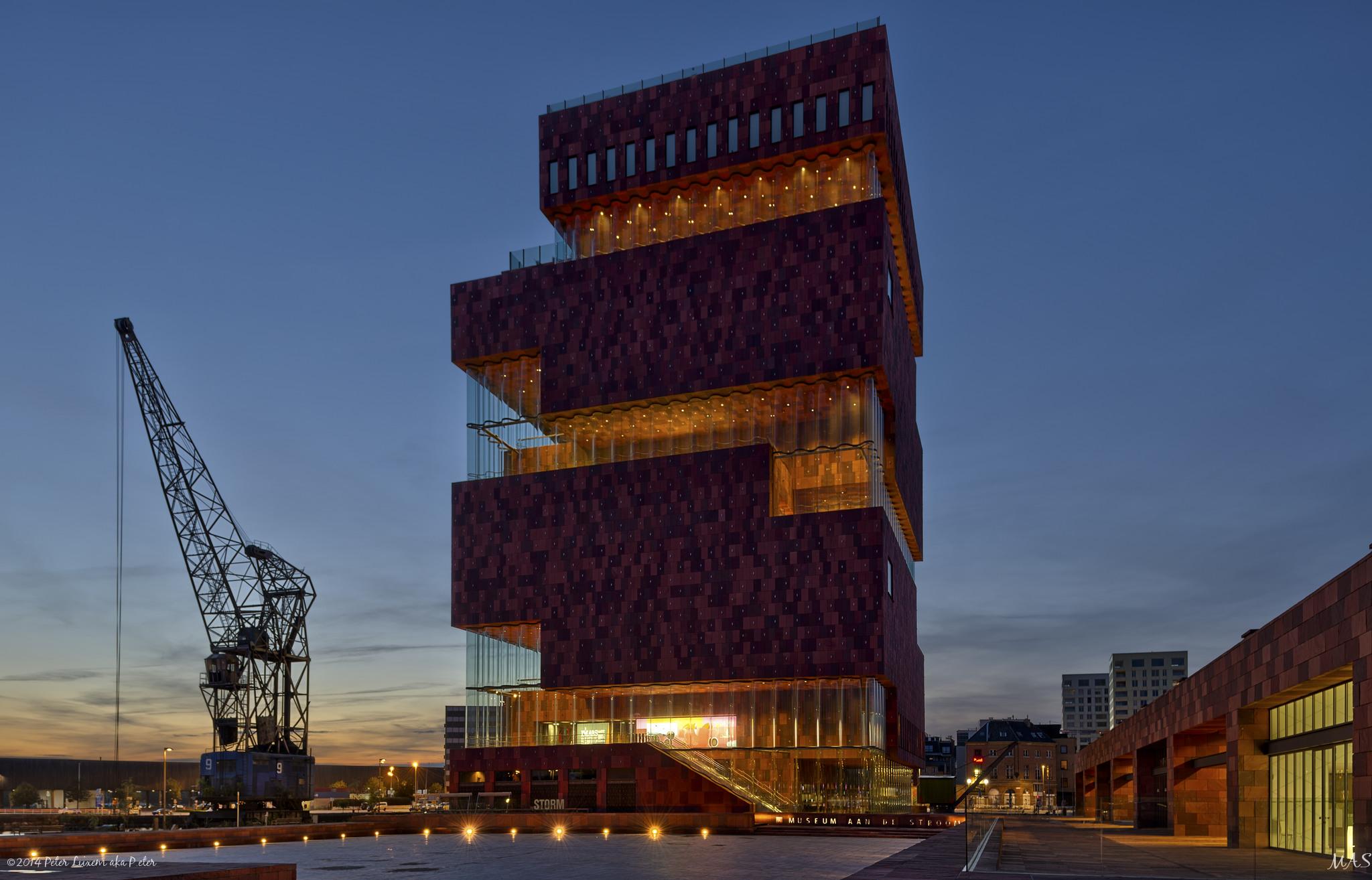 Museum aan de Stroom aka MAS, Belgium