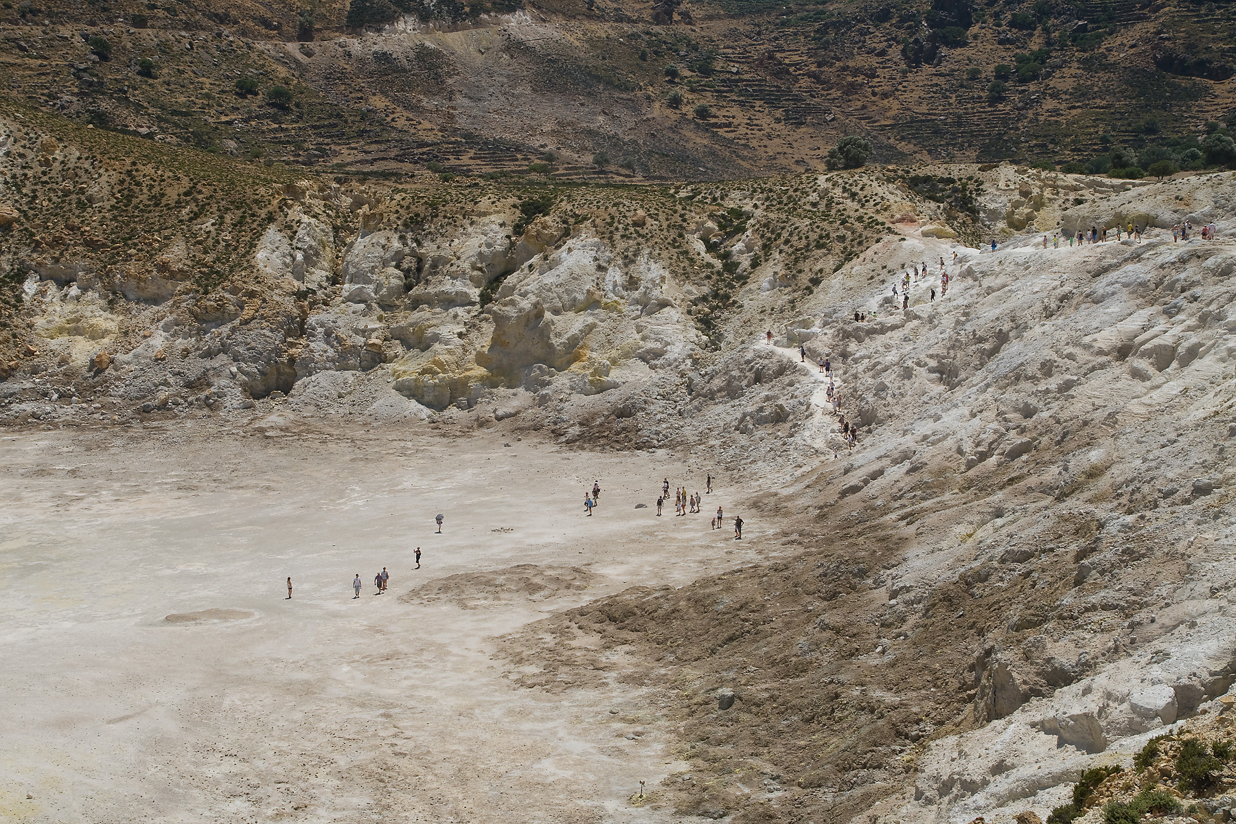 Nisyros Caldera, Greece
