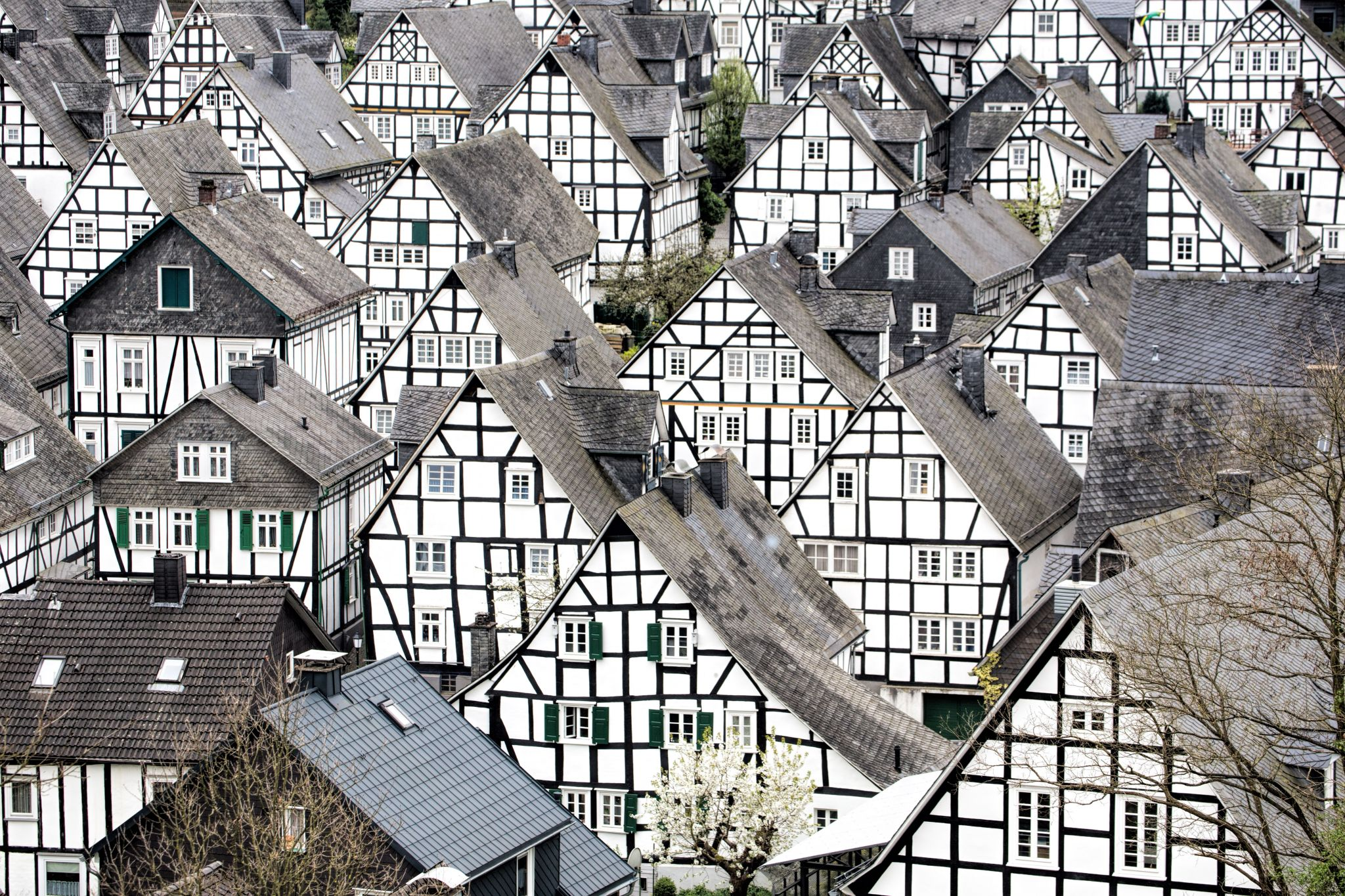 Old city of Freudenberg, Germany