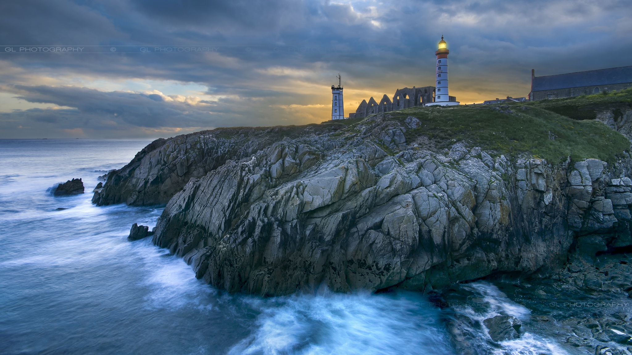 Pointe saint mathieu, France