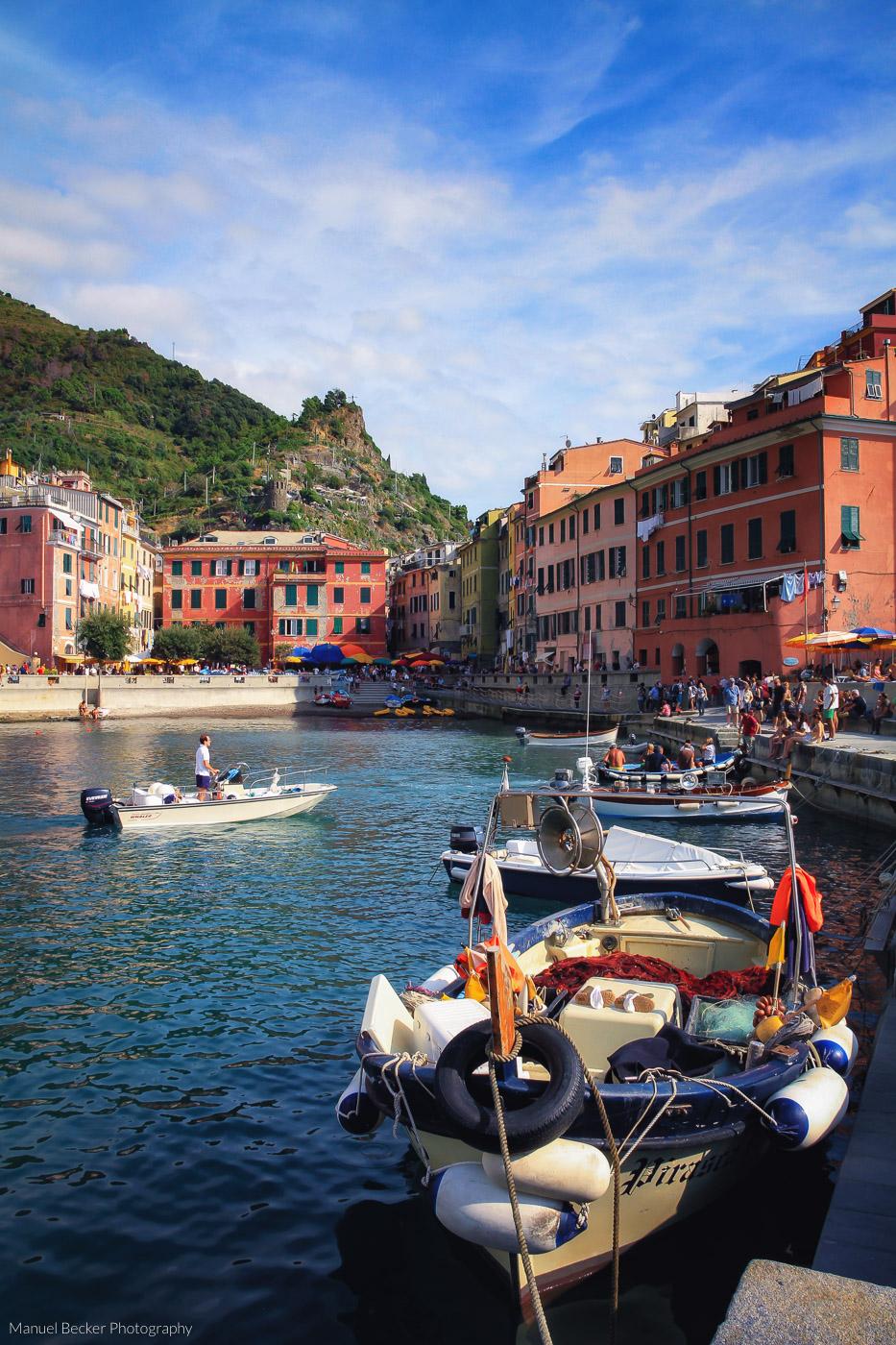 Port of Vernazza, Cinque Terre, Italy