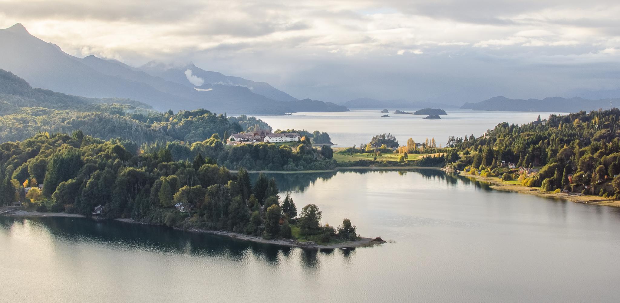 Punto panoramico Bariloche, Argentina