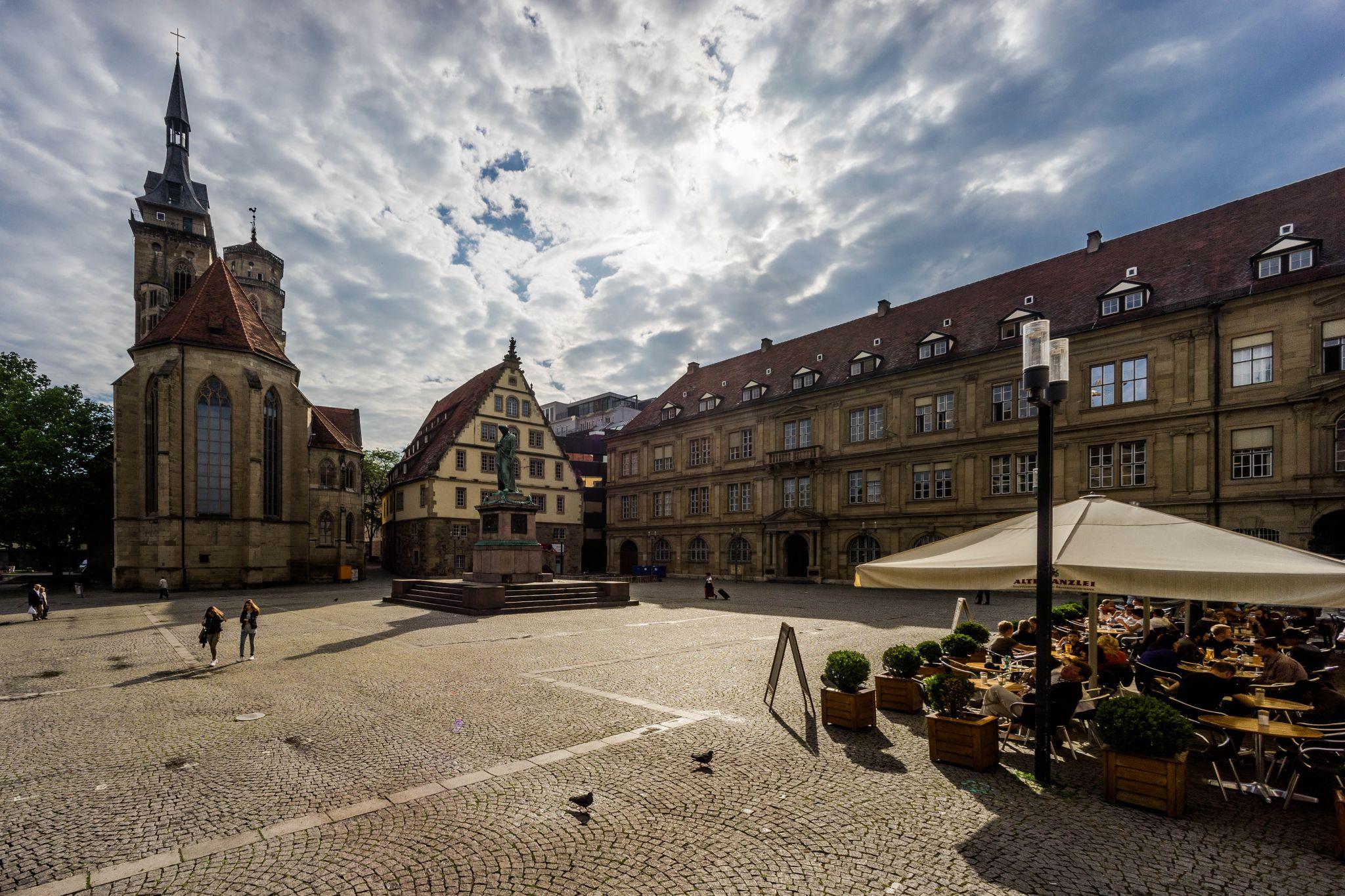 Schillerplatz, Stuttgart, Germany