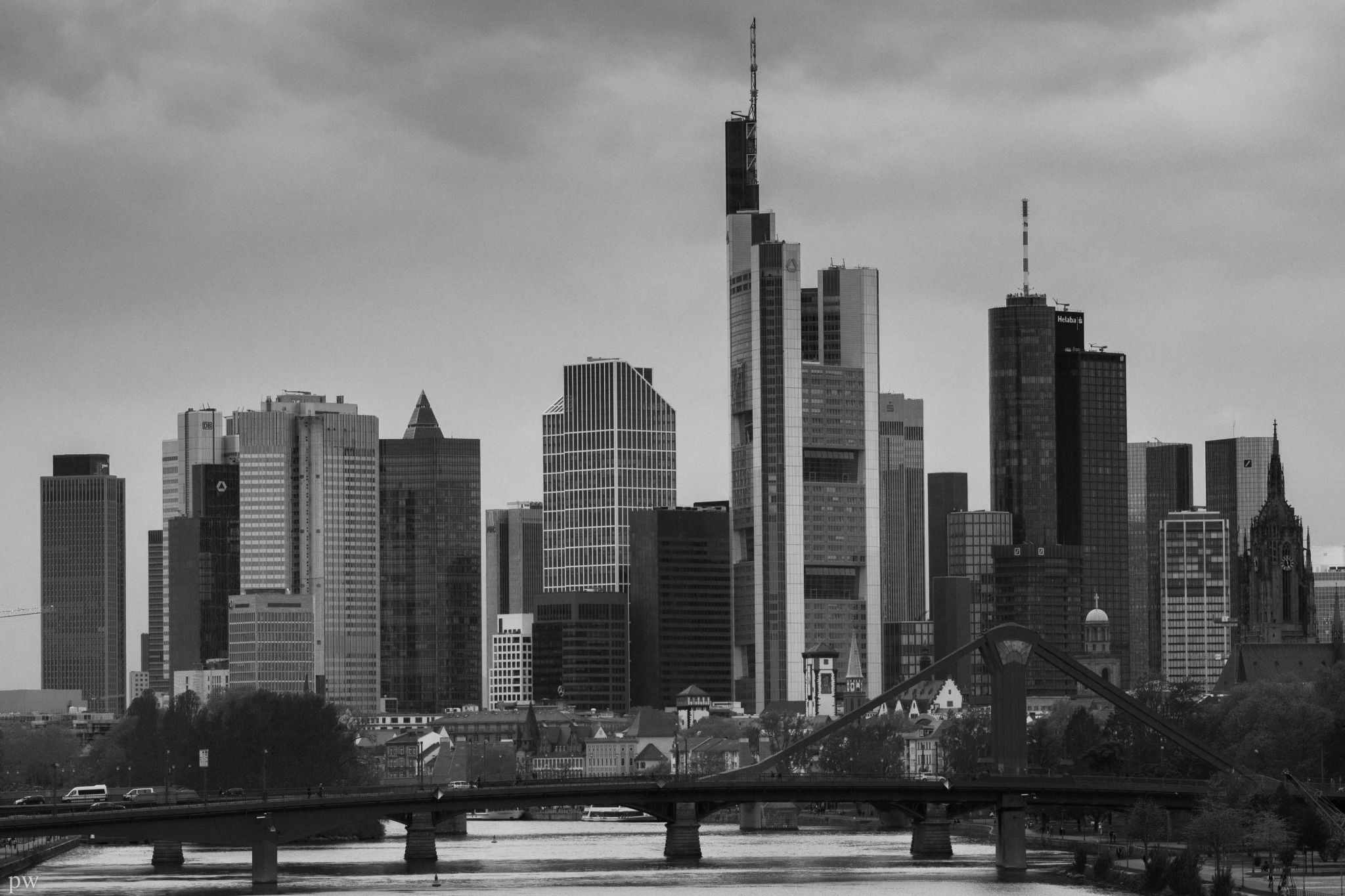 Skyline, Frankfurt am Main, Germany, Germany