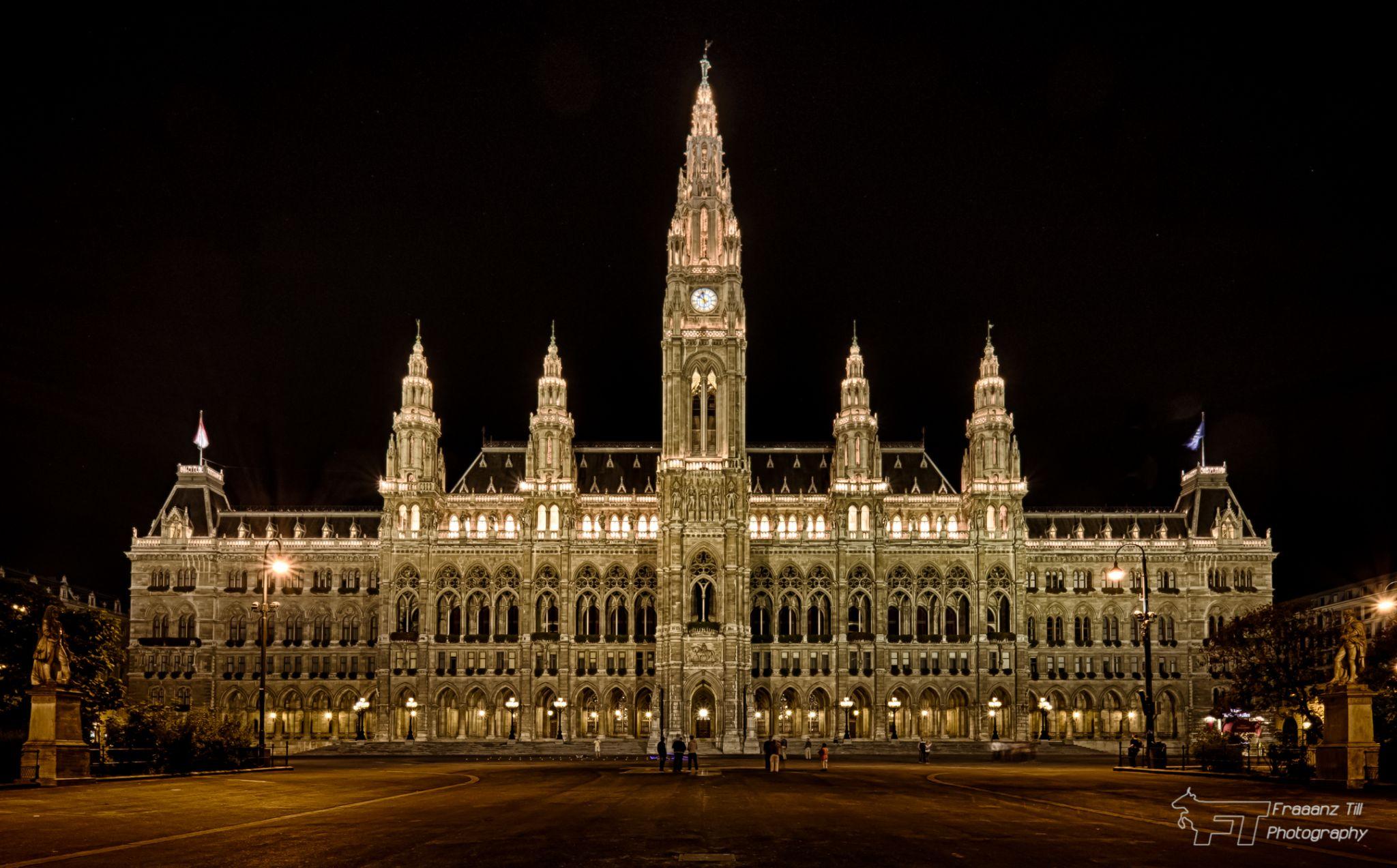 Vienna town hall, Austria
