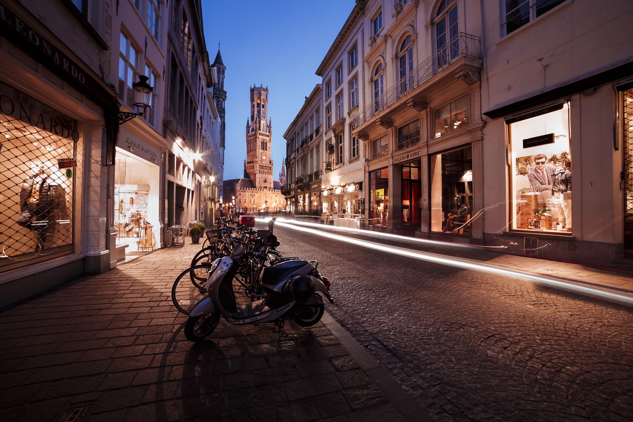 Way to Dali, Brugge, Belgium
