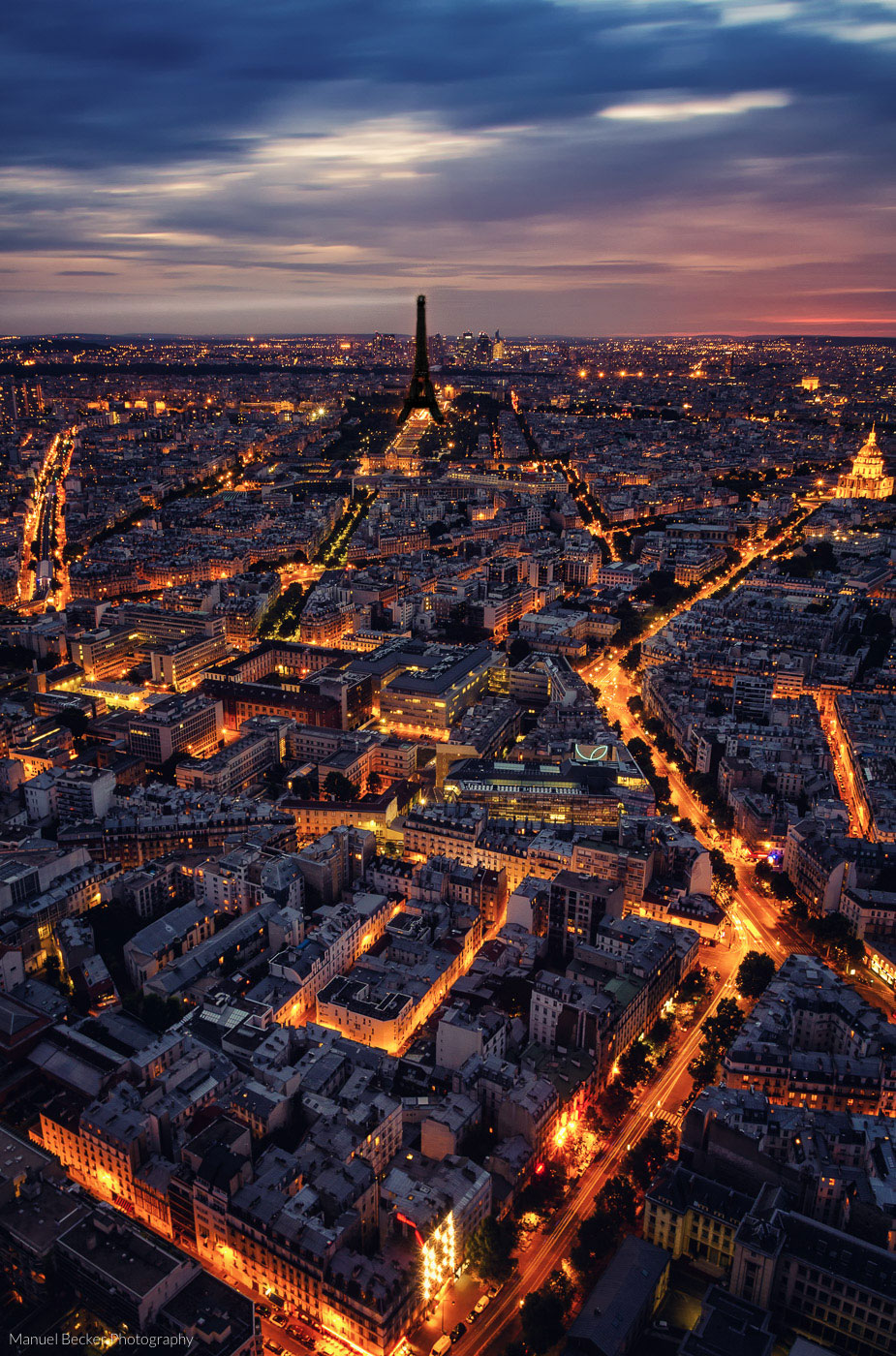 56th floor of Tour Montparnasse, Paris, France