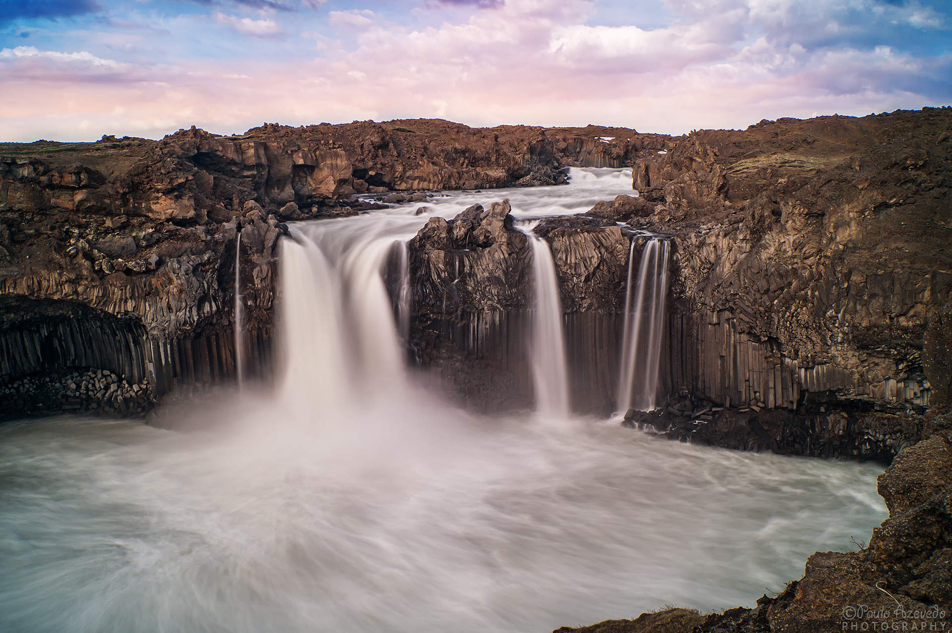 Aldeyjarfoss Waterfall, Iceland