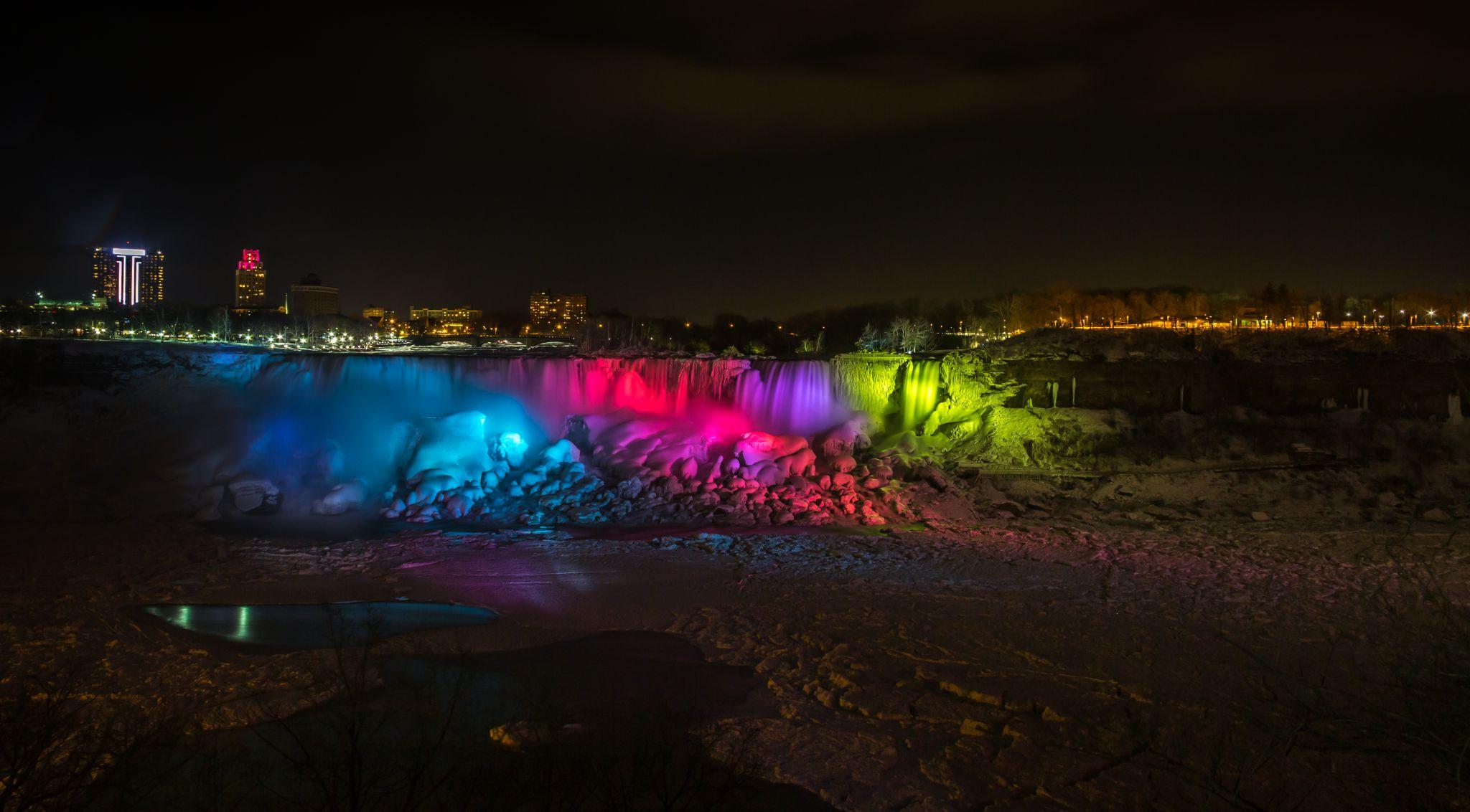 American Falls at Niagara Falls, Canada