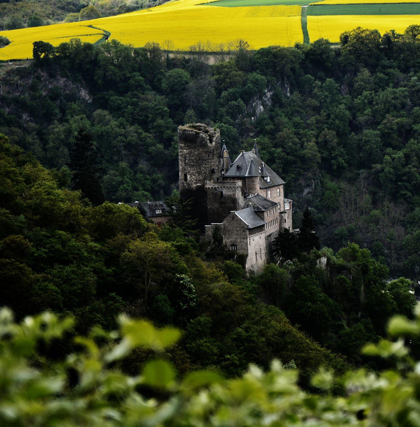 Katz Castle, Rhine River, Germany