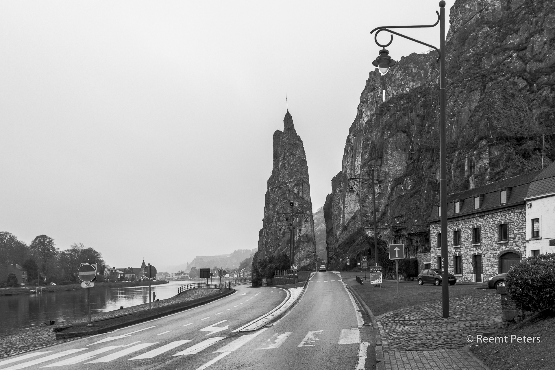 Cliff of Dinant, Belgium