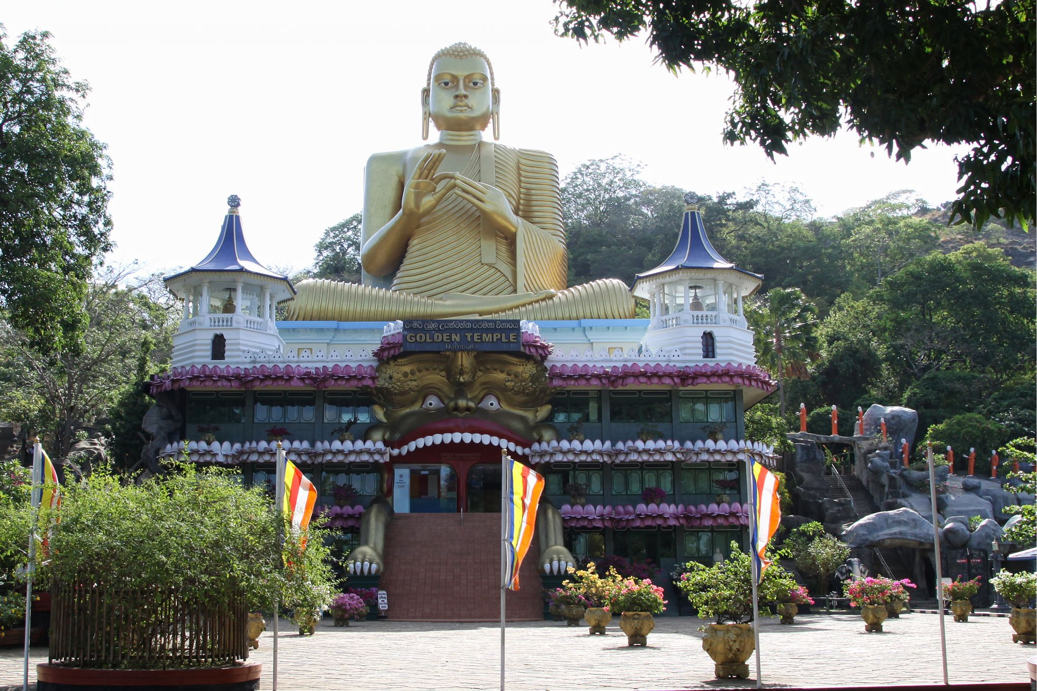 Dambulla Rajamaha Viharaya (Golden Temple), Sri Lanka