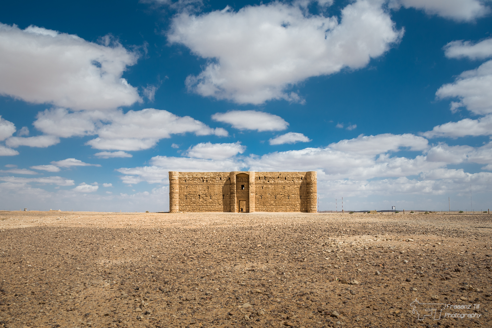 Desert Castle - Qasr Kharaneh, Jordan