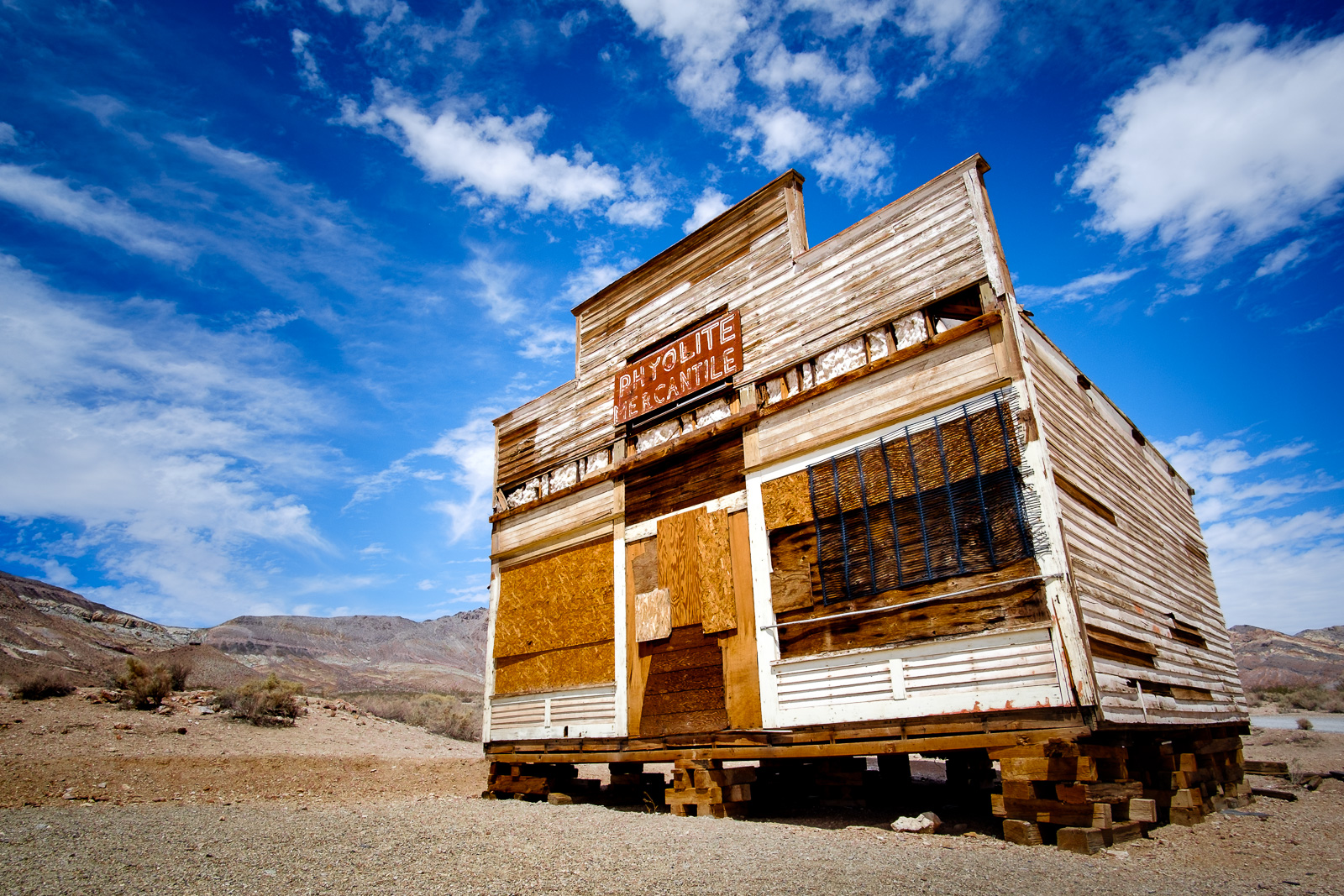 Ghost Town Rhyolite - Abandoned General Store, USA