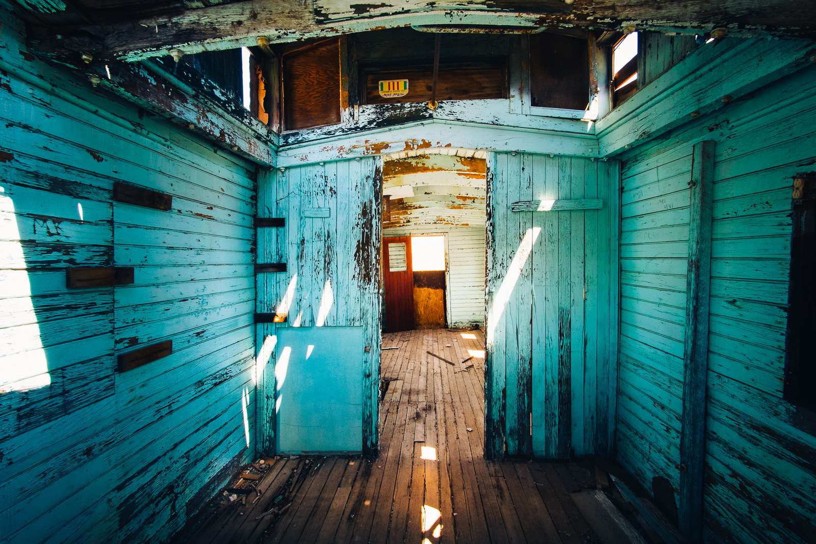 Ghost Town Rhyolite - Abandoned House, USA