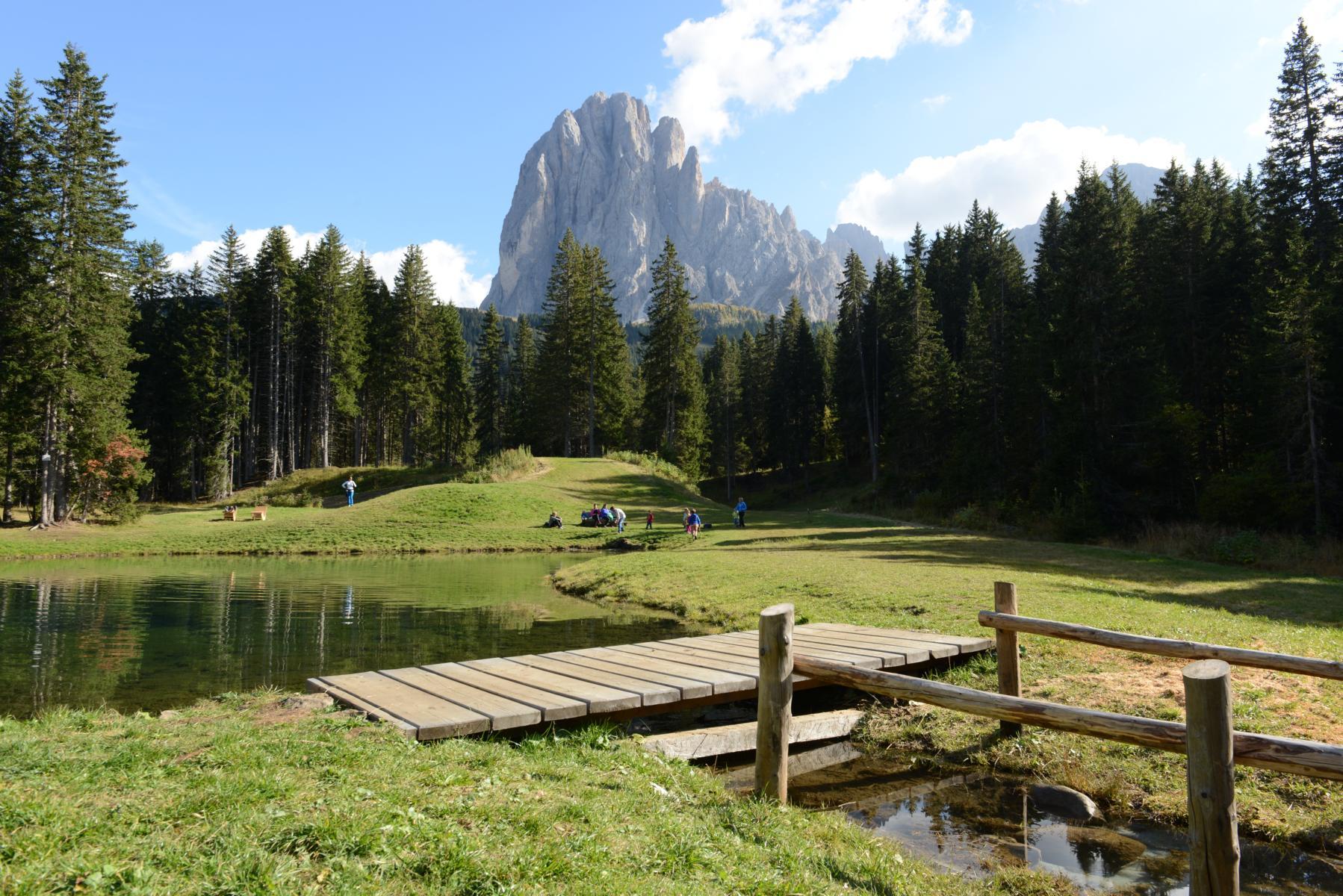 Monte Pana, Val Gardena, Italy