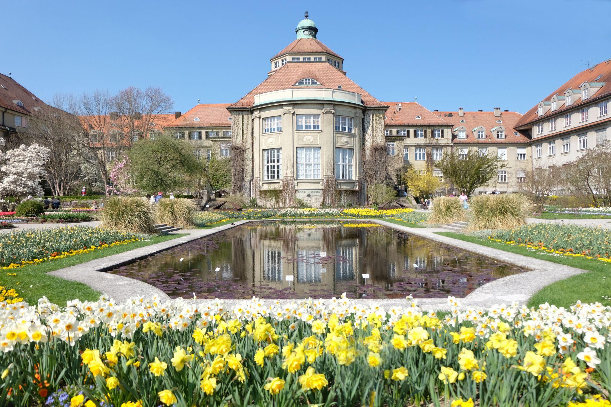 Old Botanical Garden, Munich, Germany