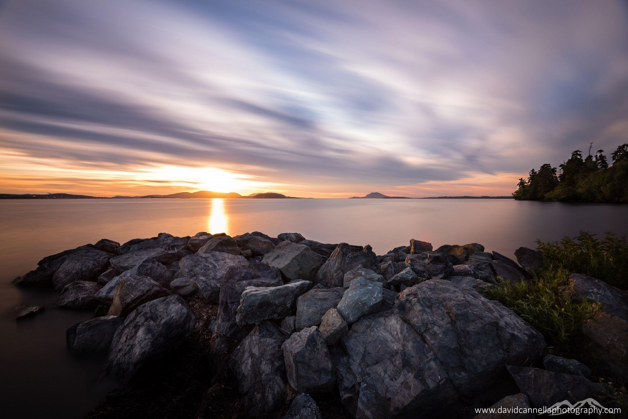 Padilla Bay in Mount Vernon, Washington, USA