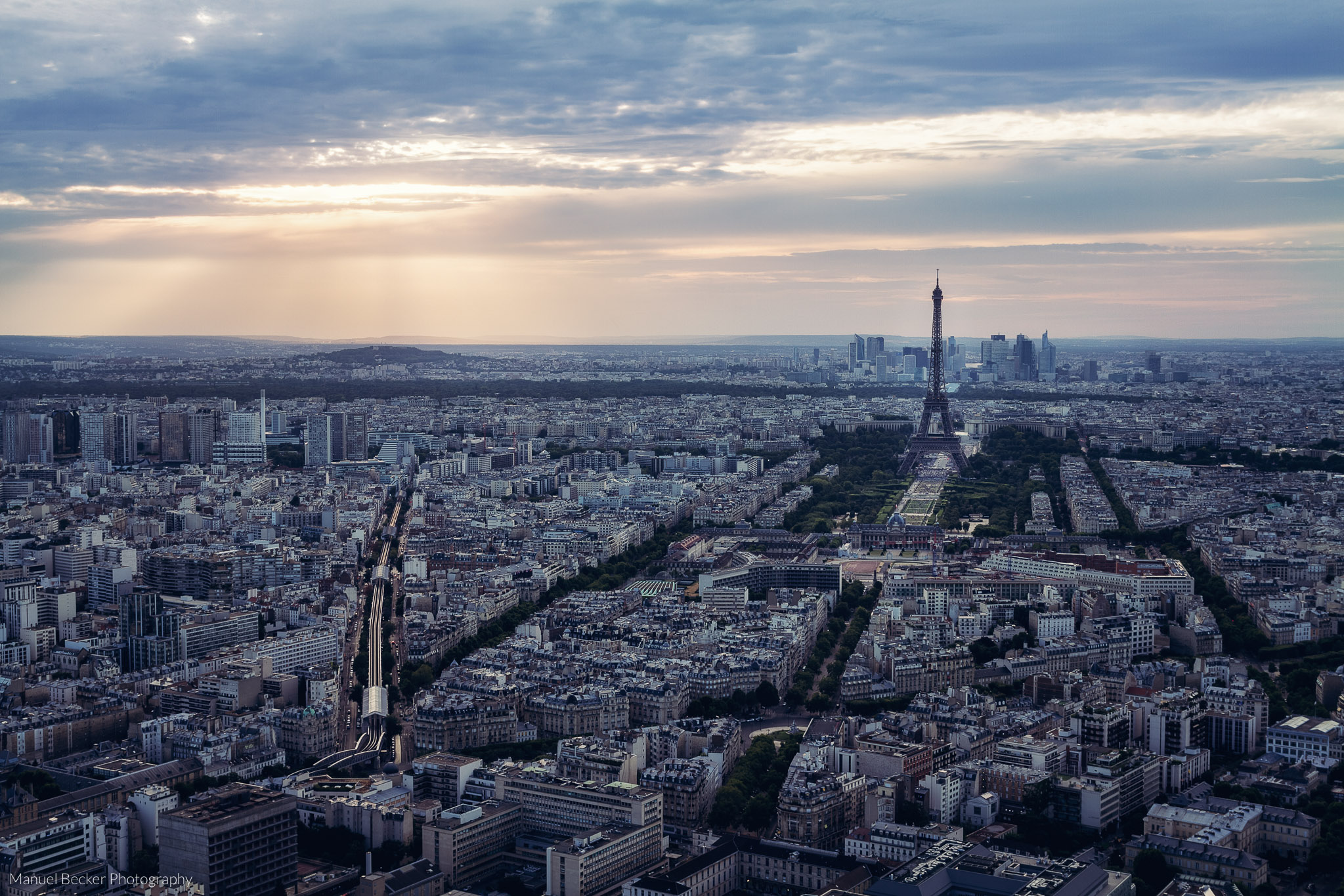 Panoramic terrace of Tour Montparnasse, Paris, France