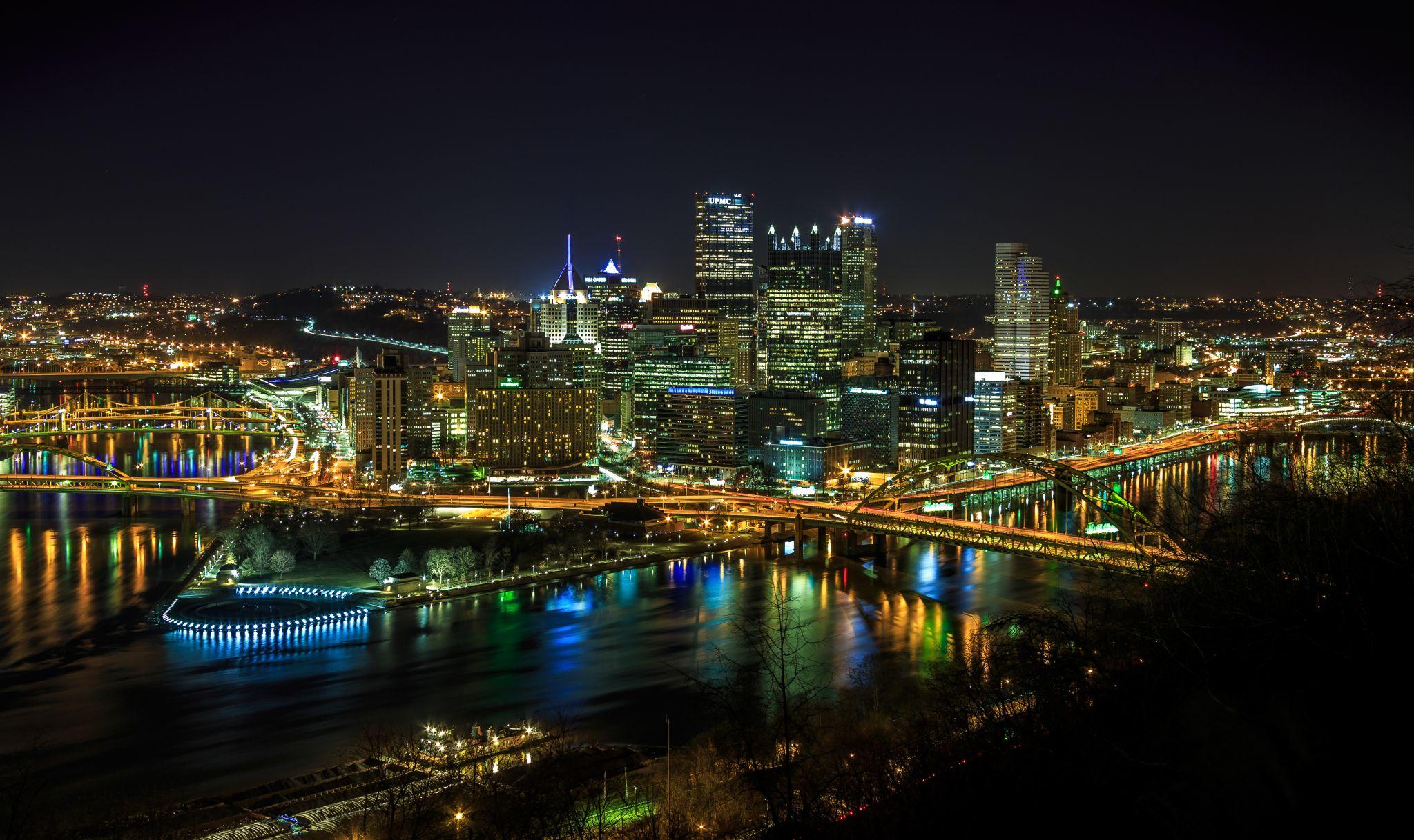 Pittsburgh Downtown, USA