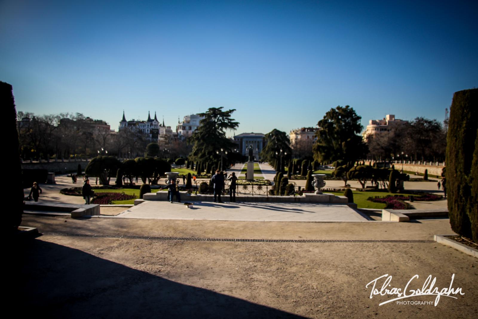 Plaza Parterre@Parque del Retiro, Madrid, Spain