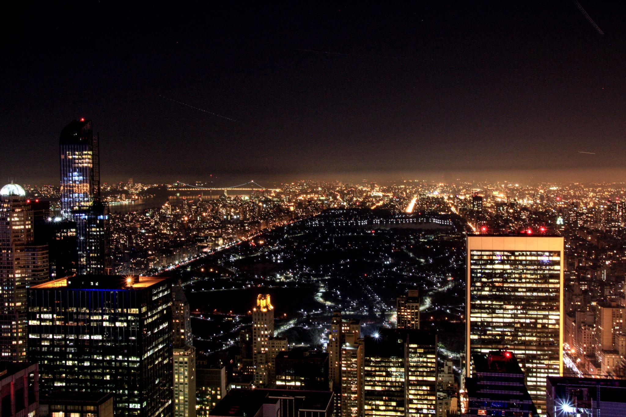 Rockefeller Center Central Park View, USA