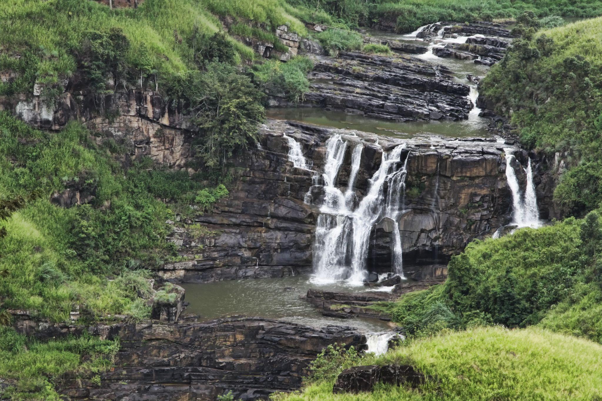 St. Clair's Waterfalls, Sri Lanka