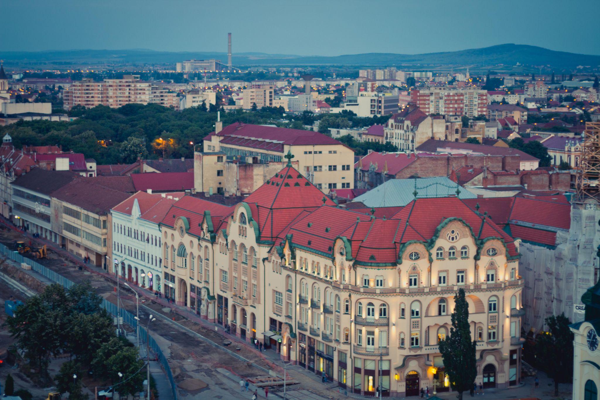 The Black Eagle Palace-Oradea, Romania