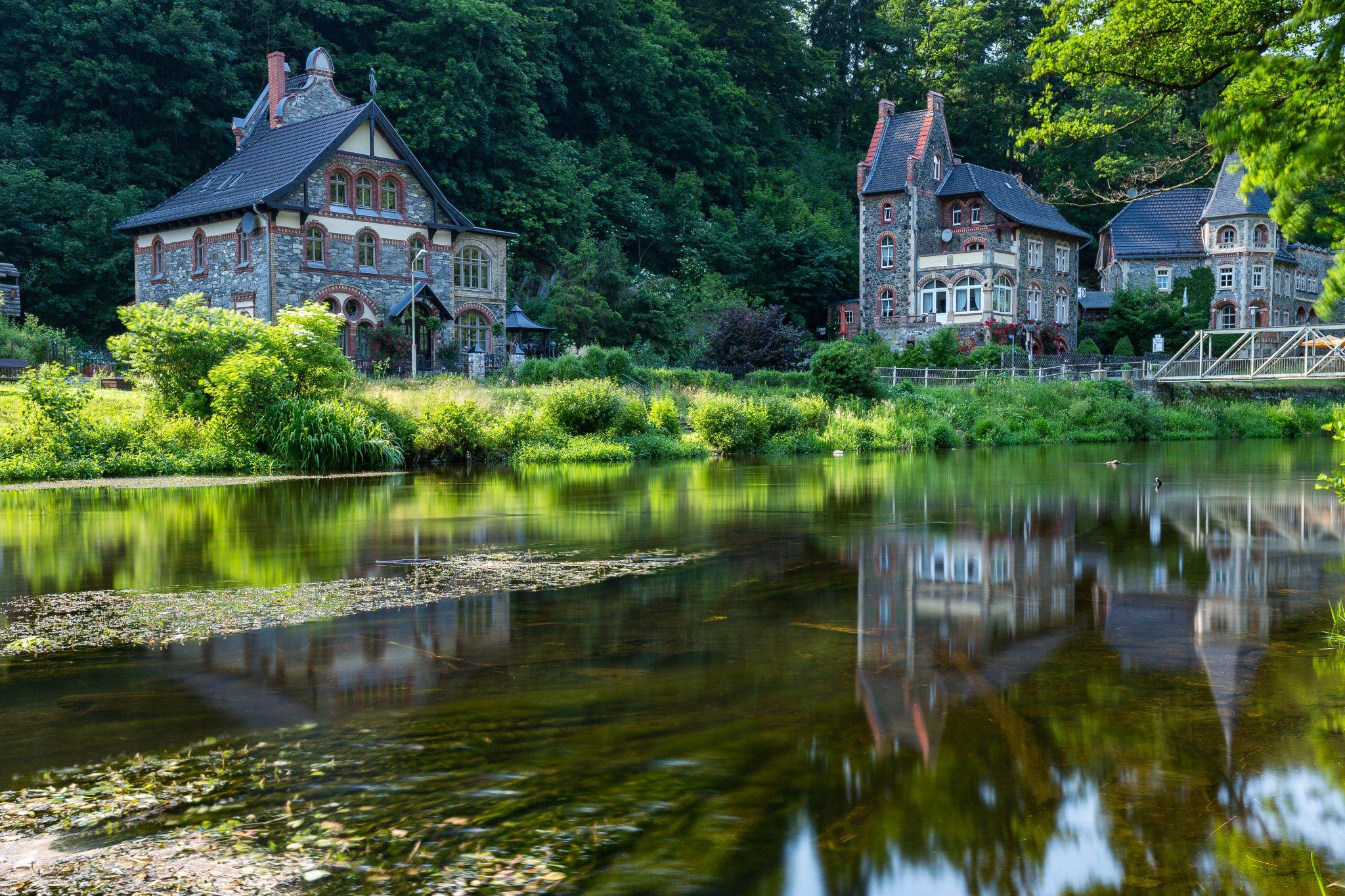 Treseburg houses, Germany