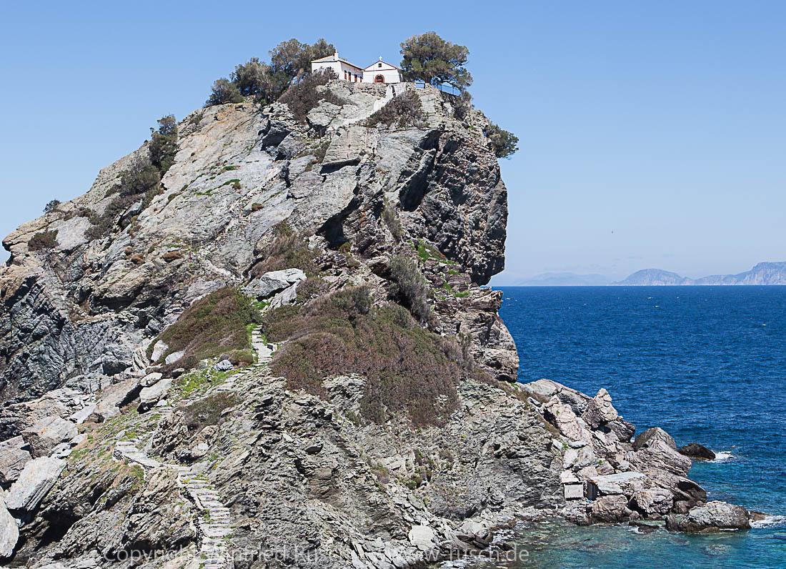 Ágios Ioánnis auf Skópelos, Greece