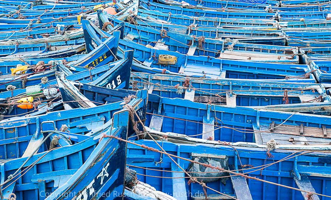 blaue Boote, Morocco