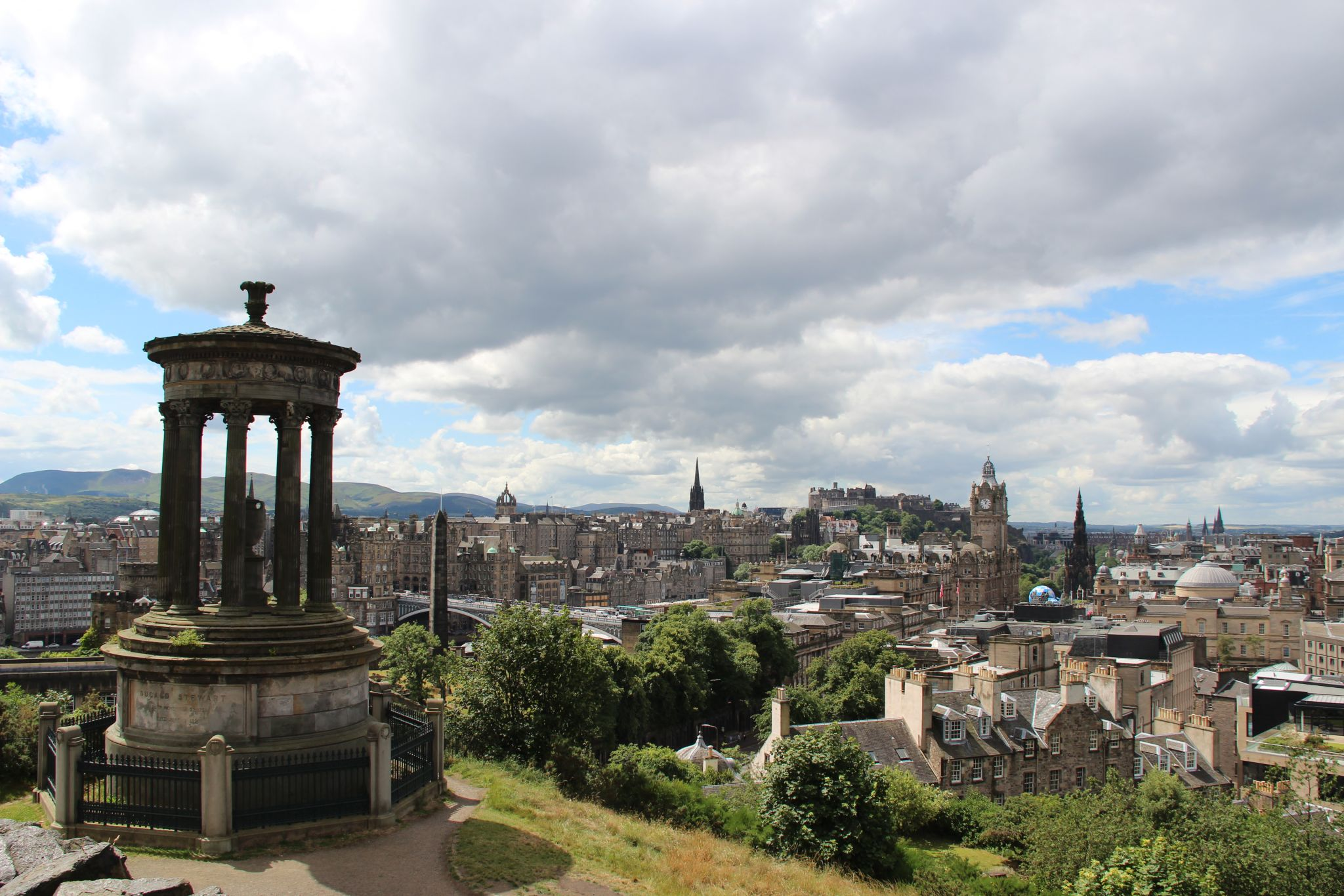 Edinburgh - view from Calton hill, United Kingdom