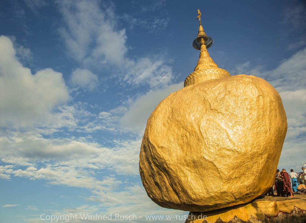 Goldener Felsen, Myanmar