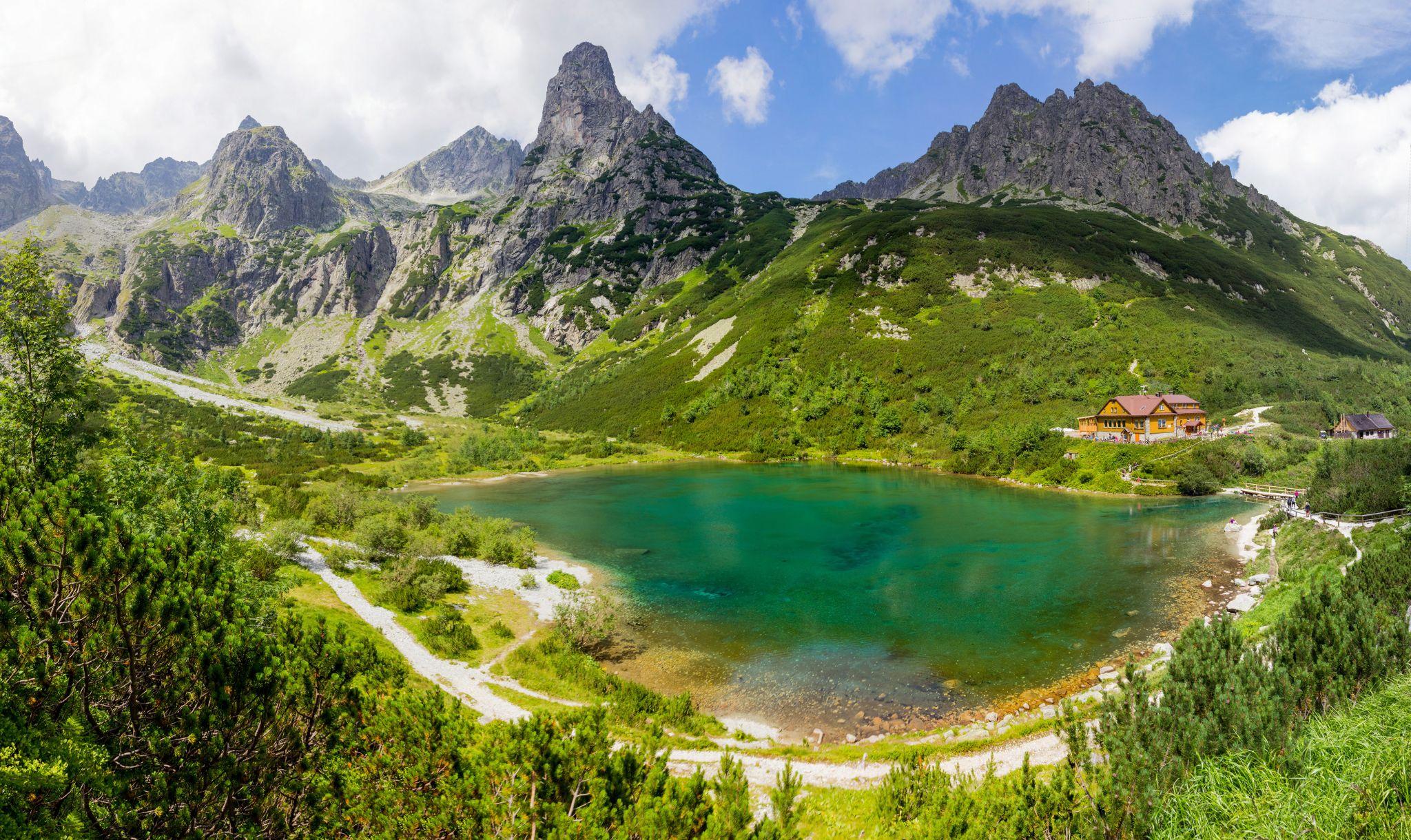 Green mountain lake - High Tatras Slovakia, Slovakia (Slovak Republic)