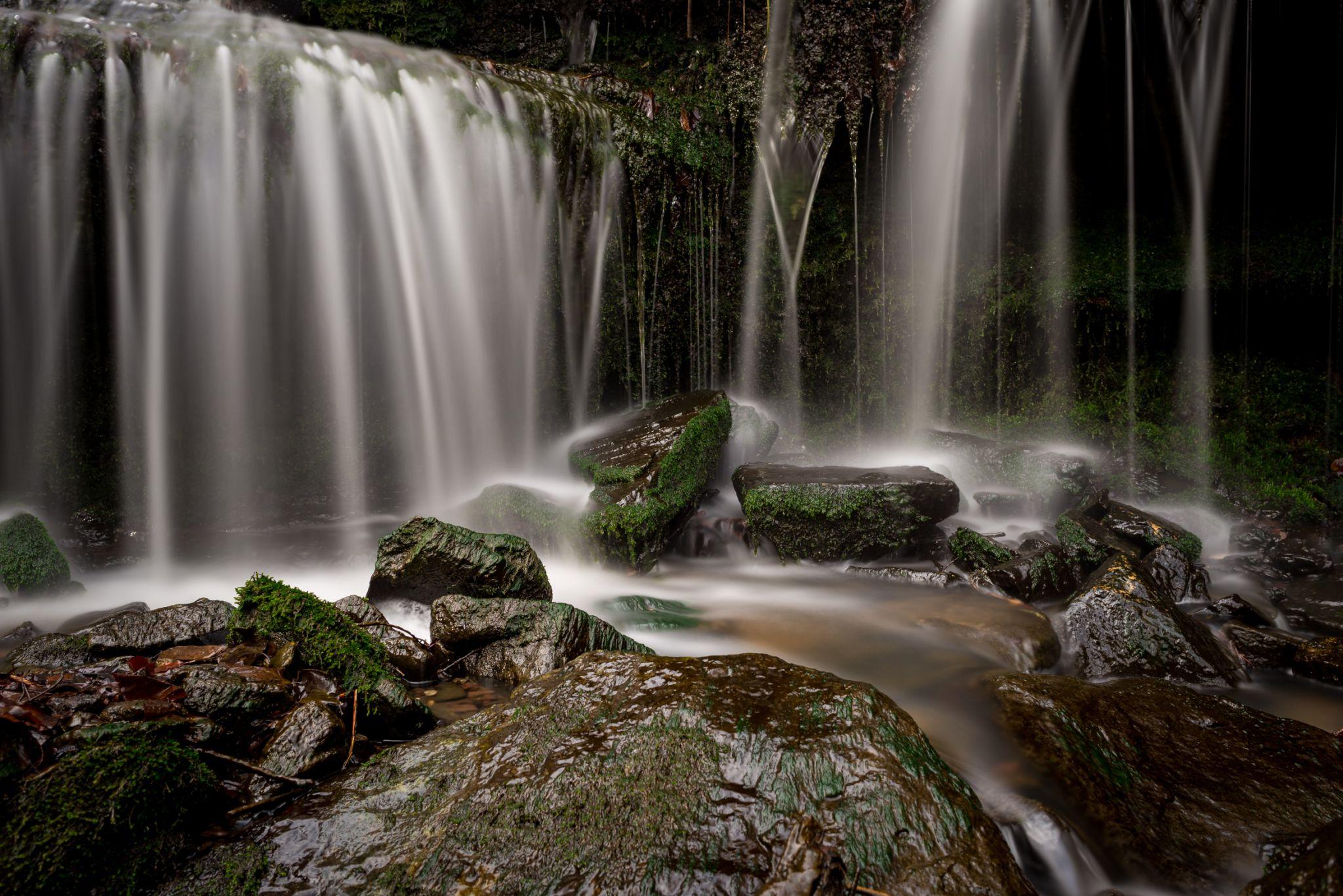 Heslacher Waterfall, Germany