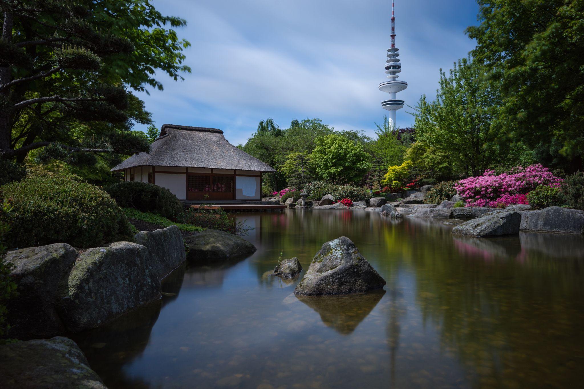 Japanese Garden in 'Planten un Bloomen', Germany