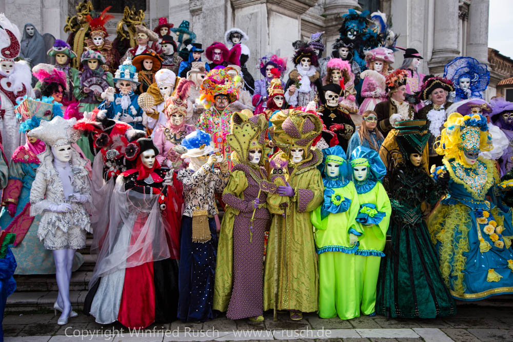 Karneval in Venedig, Italy